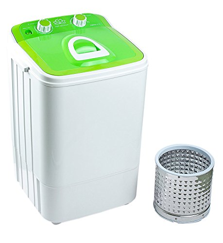 DMR 46-1218 Single Tub Washing Machine with Steel Dryer Basket (4.6 kg, Green)