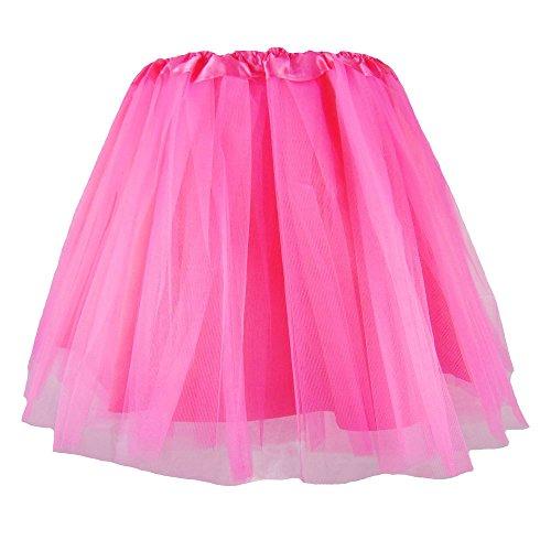 Kostüm Ballett Männer - Partybob Männer Tütü - Fun Tüll-Rock für Herren (Pink)