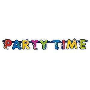 Procos - Guirnalda Happy Birthday Party Streamers, multicolor, PR8935
