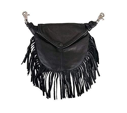 Offiziell lizenzierte Originals Tasche aus echtem Rindsleder, hergestellt in den USA, Damen, Fringe Design (9