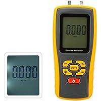GM510Portable USB Manometro di pressione digitale LCD manometro pressione differenziale Manometro Gamma di misura 10kPa - Manometro Differenziale