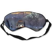 Eye Mask Eyeshade Train Snow Mountian Sleeping Mask Blindfold Eyepatch Adjustable Head Strap preisvergleich bei billige-tabletten.eu