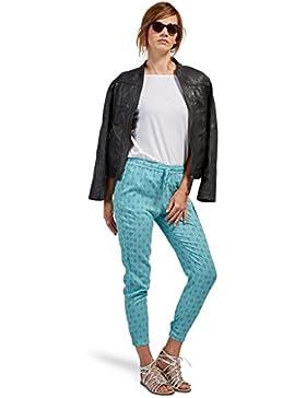 Tom Tailor für Frauen pants / trousers gemusterte Loose-Fit Hose