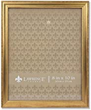 Lawrence Frames Classic Bead Picture Frame, 8x10, Gold
