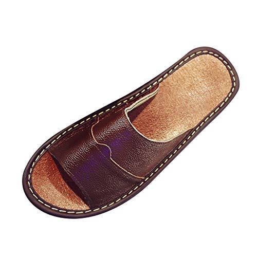 bf2c31f03e6d70 Lin Chaussures de Plage Hommes Couples Crochet Creux Chaussures Mules et  Sabots Respirant Chaussures