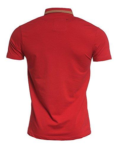 BLZ jeans - Polo kurze Ärmel rot Mann Rot
