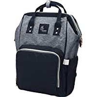 R for Rabbit Caramello - The Smart and Fashionable Diaper Bag/Mother Bag (Black Grey)