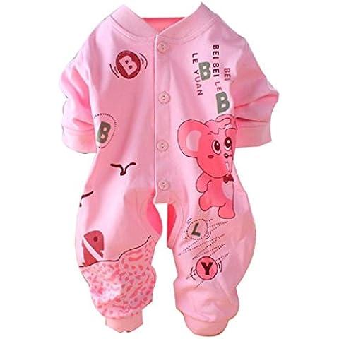 para la ropa del bebé,RETUROM suave lindo bebé muchacha de los cabritos Muchacho infantil del mameluco del mono del mono ropa de algodón traje