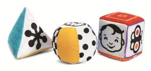 Manhattan Toy Wimmer-Ferguson Mind-Shapes multisensorisches Set von Mitmach-Soft-Formen