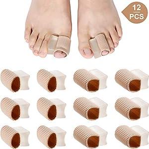Zehen Kissen Tube Zehen Tube Ärmel Weiche Gel Mais Pad Protektoren für Kissen Mais, Blasen, Schwielen, Zehen und Finger