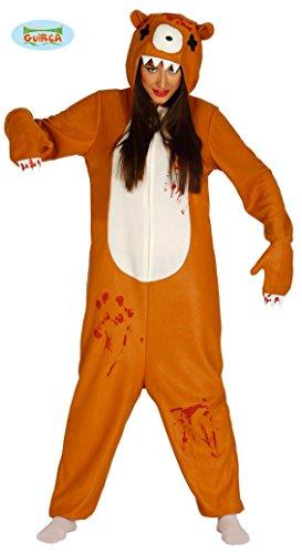Killer Bär Kostüm Bärenkostüm für Damen Gr. M/L, (Bär Killer Kostüm)