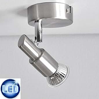 Plafonnier LED Applique Murale Spot 2991–012B prisme avec 3W GU10le