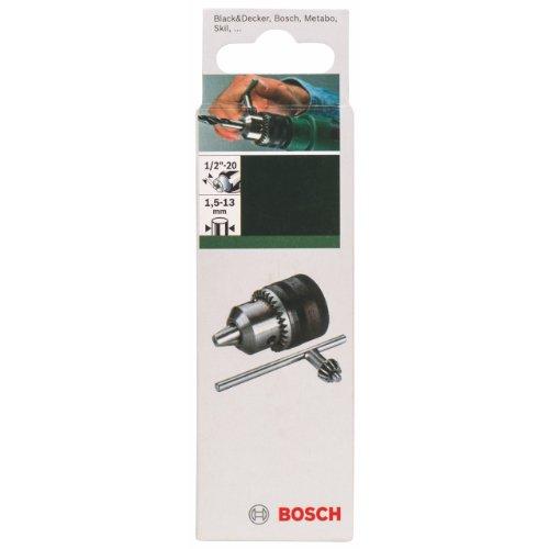 Bosch 2609255701 DIY Zahnkranzbohrfutter 1.5-13, 1/2 Zoll-20, r/l (1)