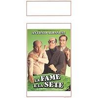 Fame e la sete, la Póster de película italiana 13x 28en–34cm x 72cm Antonio Albanese Lorenza Indovina Aisha Cerami Lucia Guzzardi Rosa Pianeta