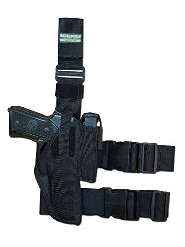Barsony Holsters & Belts Größe 22 Ruger Sig Walther S&W Springfield Taurus rechte Seite Taktisches Beinholster