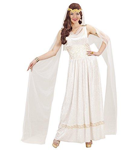Kostüm Kostüm Damen Kleid mit Schleier Römische Kaiserin * 19872, mehrfarbig Medium