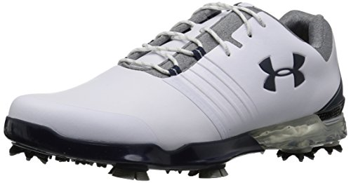 Under armour ua match play, scarpe da golf uomo, bianco (white 104), 44 eu