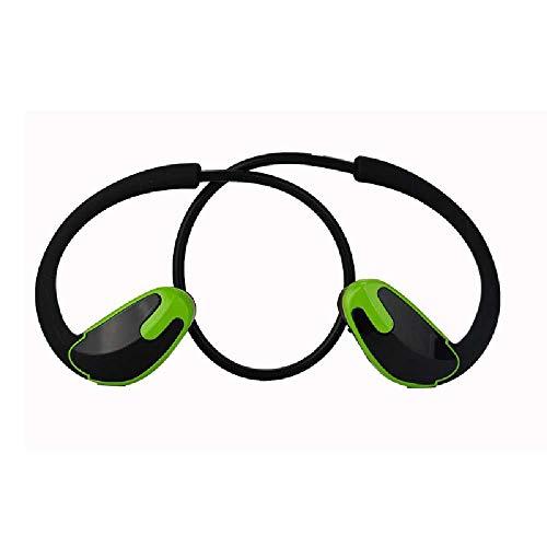 LHSZ Kopfhörer mit Geräuschdämpfung auf der Rückseite, Stereo-Sound für Wireless-Kinematik, Bluetooth-Headset Schwarzgrün