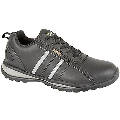 Grafters ,  Unisex - Erwachsene Sneaker Low-Tops Schwarz