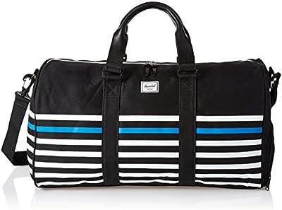Herschel - Bolsa de viaje  Negro Black/Stripe talla única