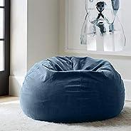 Regal In House relaxing bean bag velvet Large - Aegean