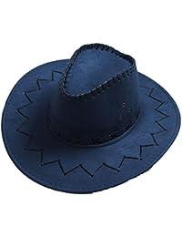5486e3c8a5956 Sombrero De Vaquero Para Mujer De Lado Ancho Protector Solar Ajustable