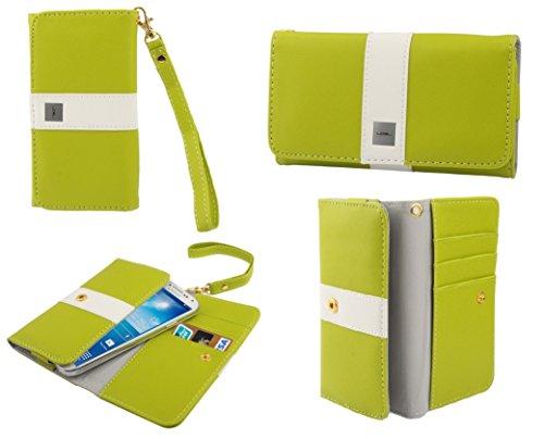 "DFV mobile - Cover premium with color line design with card case for >     apple iphone 6 [4,7""], color pistachio PISTACHIO"