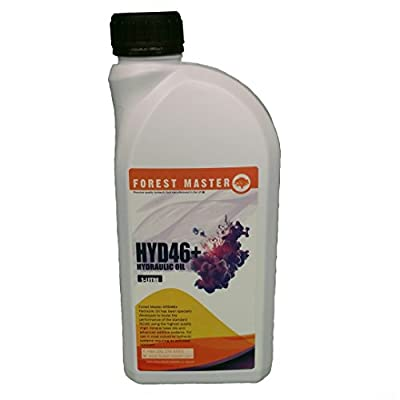 Forest Master Hydraulic Fluid For Electric Hydraulic Log Splitters Iso 46 Oil 1 & 5 Litres