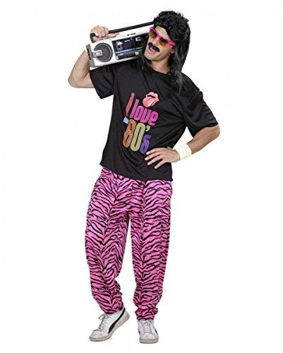 80er Jahre Bad Taste Herren Kostüm Anzug M/L (Eine Hosen-anzug Taste)