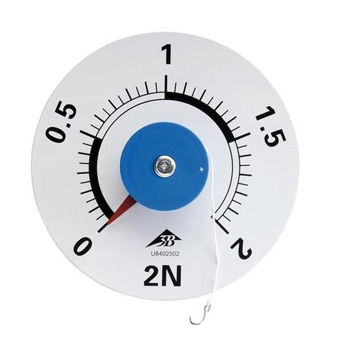 3B Scientific U8402502 Kraftmesser mit runder Skala, 2 N