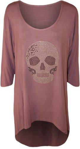 WearAll - T-shirt - Donna Mauve