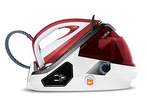 Calor GV9061C0 Centrale Vapeur Haute Pression Pro Express Care - 7 bars Illimitée Collecteur Anti Calcaire 3 Réglages Automatiques