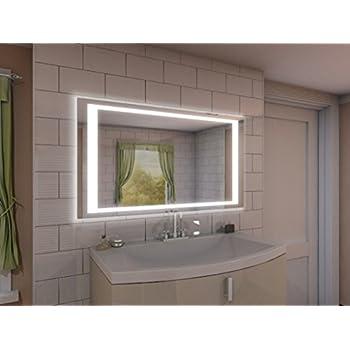 spiegel badezimmer badspiegel mit beleuchtung nj2 m402l4 design fa 1 4 r beleuchtet led licht badezimmerspiegel ohne