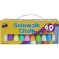 Slinky Jumbo Sidewalk Chalk 60/Pkg