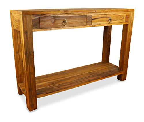 livasia Java Anrichte aus Teakholz | Sideboard aus Massivholz | Highboard der Marke Asia Wohnstudio | Beistelltisch | Konsolentisch aus Vollholz (Handarbeit) -