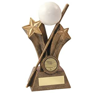 "6.5"" Snooker/Pool Trophy Award plus FREE Engraving up to 30 Letters JR5-RF525B"