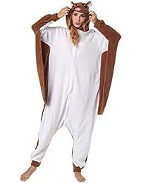 Katara 1744 Grenouillère Combinaison pour Adultes Tenue de Nuit Pyjama Kigurumi Costume Animal, Choix Modèles et Tailles