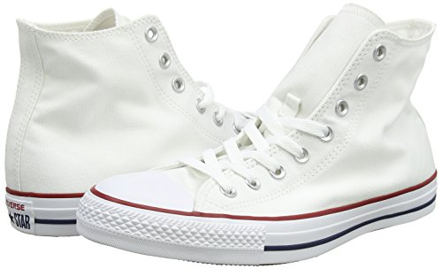 Converse Converse Sneakers Chuck Taylor All Star M7650, Unisex-Erwachsene Hohe Sneakers, Weiß (Optical White), 43 EU (9.5 Erwachsene UK) - 5