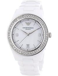 Emporio Armani Damen-Armbanduhr Analog Quarz Keramik AR1426