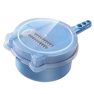 Wshuhouui Kartoffelseide Drahtschneider Küchenplaner Peeling Rührmaschine rühren Füllen in Scheiben geschnitten multifunktionalen Haushaltshacking-Artefakt