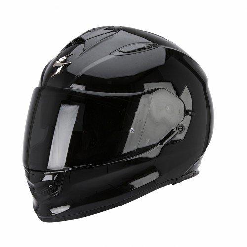 Scorpion Helm, Schwarz, XL (Historische Outfits)