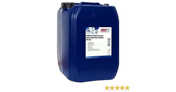 Eurolub Mehrbereichshydrauliköl Sae 10w 30 20 Liter Auto