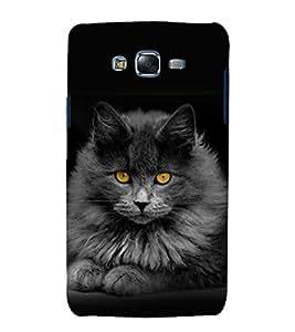 printtech Cat Kitten Eyes Back Case Cover for Samsung Galaxy J5 / Samsung Galaxy J5 J500F