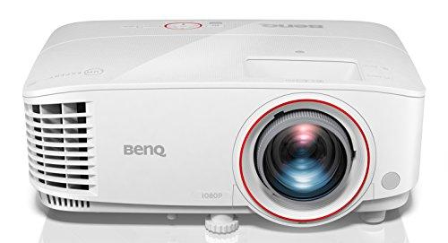 BenQ TH671ST - Proyector DLP 1080p 3D Tiro Corto Gaming (Full HD, 3000 lúmens, Tiro Corto de 100 Pulgadas a 1.5 m, Altavoces de 5 W, inalámbrico, HDMI, MHL)
