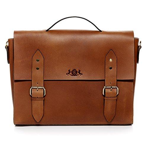 Scotch & Vain serviette BOSTON - grand - sacoche pour ordinateur, étui PC portable approprié pour 15.4\\