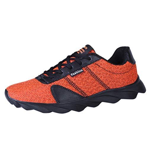 RYTEJFES Herren Turnschuhe Laufschuhe Damen Mesh Tuch Straßenlaufschuhe Atmungsaktiv Leichtgewicht Trainers Schuhe Mode Sneaker Shoes