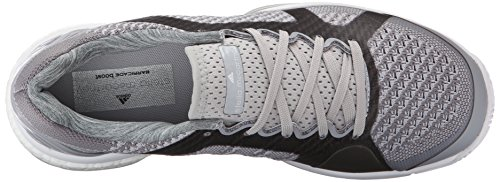 Adidas ASMC Barricade rafforzare la formazione Calzature, Mistero Grigio / universo / bianco, 5 M Us Mystery Grey/Universe/White