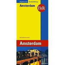 Falk Cityplan Extra Standardfaltung International Amsterdam mit Straßenverzeichnis
