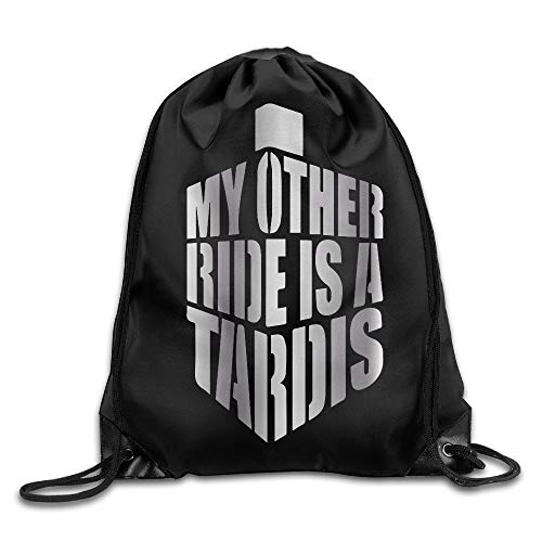 Outdoor My Other Ride Is A Tardis Platinum Style Tunnelzug Rucksack
