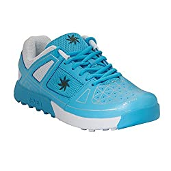 Zeven Crust Mesh Cricket Shoes, Mens (Blue)